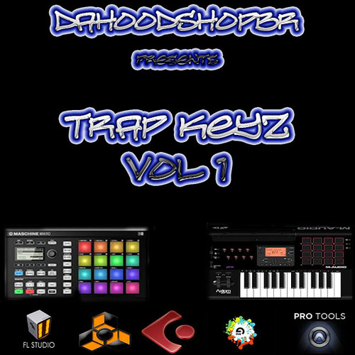 Product picture @DaHoodShop TRAP KEY Loops VOL 1