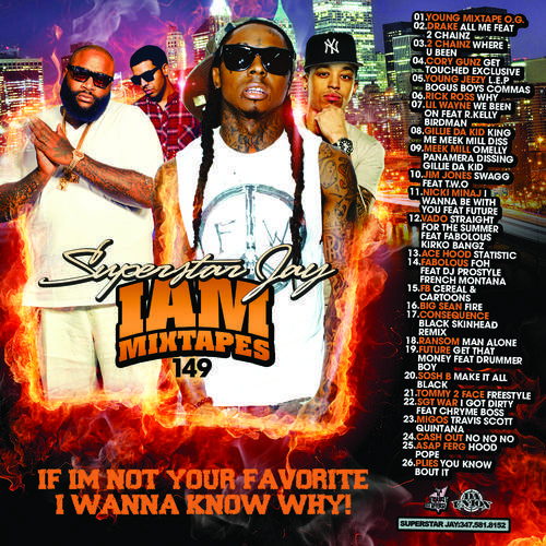 Product picture SUPERSTAR J - I AM MIXTAPES 149